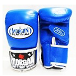 MORGAN PLATINUM GEL CURVED LEATHER BAG MITTS $30 (AUD)