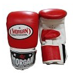 MORGAN PROFESSIONAL CURVED LEATHER BAG MITTS $26 (AUD)